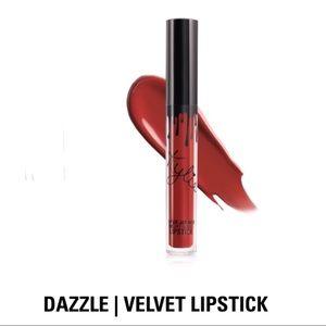 "Kylie Velvet Liquid Lipstick In ""Dazzle"", NIB"